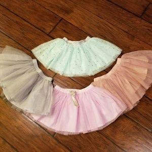 Carter's tutu skirts